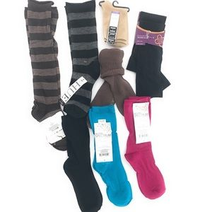 9 PR NEW Women's Hue Alfani Women's Socks One Size